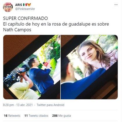 suarios de Twitter comenzaron a señalar que la historia tenía muchas similitudes con el caso de la youtuber mexicana (Foto: captura de pantalla de Twitter)