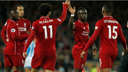 Salah recién ganó la Champions con los Reds (Foto: Reuters)