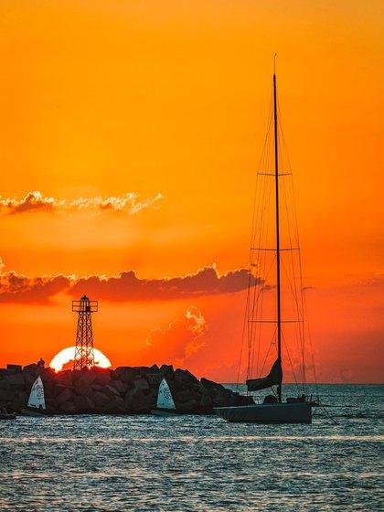 Desde el Puerto de Punta del Este