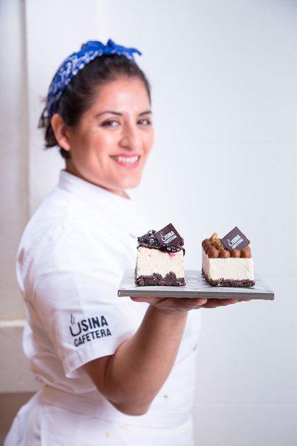 María Estela Tapia está a cargo de Usina Cafetera
