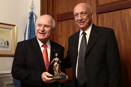 Miguel Lifschitz junto a Antonio Bonfatti (@AntonioBonfatti)