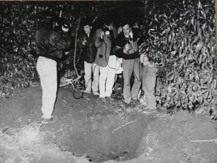 A Ibañez lo encontraron muerto de un tiro el 25 de julio de 1990