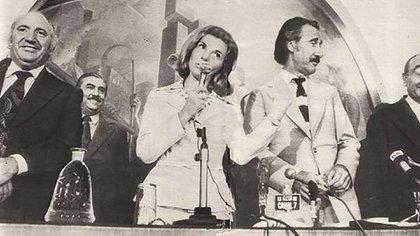 Lorenzo Miguel, Isabel Perón y Casildo Herrera