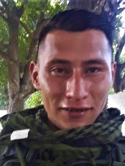 Breinner Alexander Granados Suárez, uno de los cuatro militares muertos en Apure