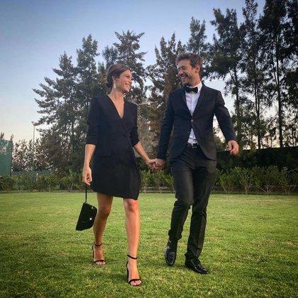 Mercedes y Mauricio comparten la pasión por la música (Foto: Instagram)
