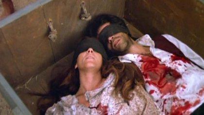 Dramatización del fusilamiento de Camila O'Gorman y Ladislao Gutiérrez, interpretados en una película de 1984 por Susu Pecoraro e Imanol Arias, y dirigida por María Luisa Bemberg