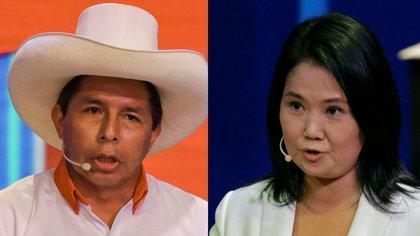 Elecciones en Perú: Pedro Castillo supera a Keiko Fujimori en la primera encuesta para el ballotage