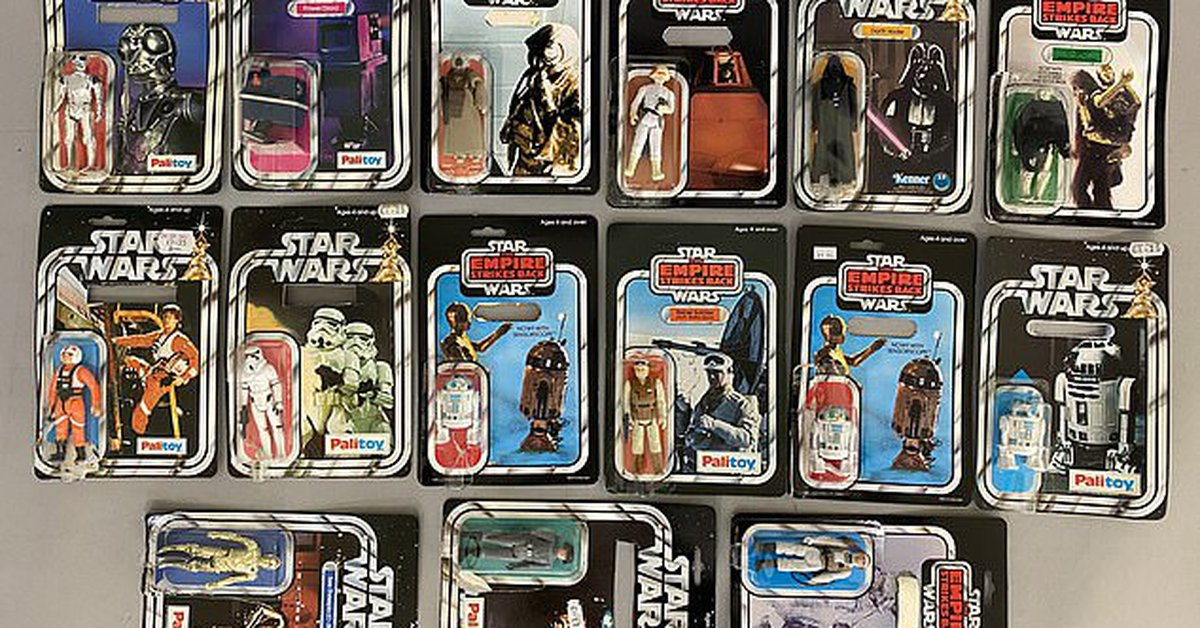 Una pareja de ancianos por poco bota a la basura una herencia de juguetes  de Star Wars avalada en medio millón de dólares - Infobae