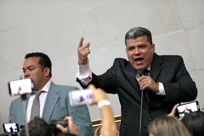 Luis Parra se autoproclamó presidente de la Asamblea Nacional de Venezuela el pasado mes de enero (Reuters/ Manaure Quintero)