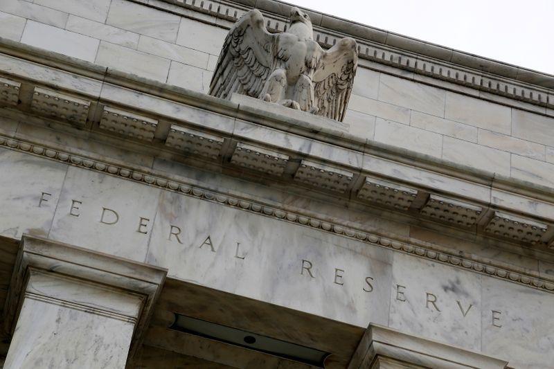 Foto de archivo ilustrativa de la fachada del edificio de la Reserva Federal en Washington. Jul 31, 2013. REUTERS/Jonathan Ernst