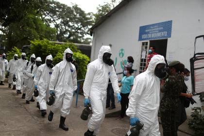 San Pablo, el estado más golpeado por el coronavirus en Brasil, teme que se desate un colapso del sistema sanitario (REUTERS/Pilar Olivares)