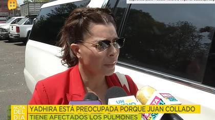Carrillo habló de las preocupaciones que tiene ante el coronavirus
