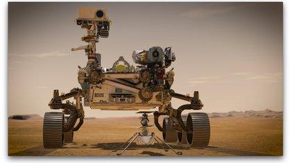 Los exploradores nuevos en Marte: Perseverance e Ingenuity - EFE/NASA/JPL-Caltech /NASA
