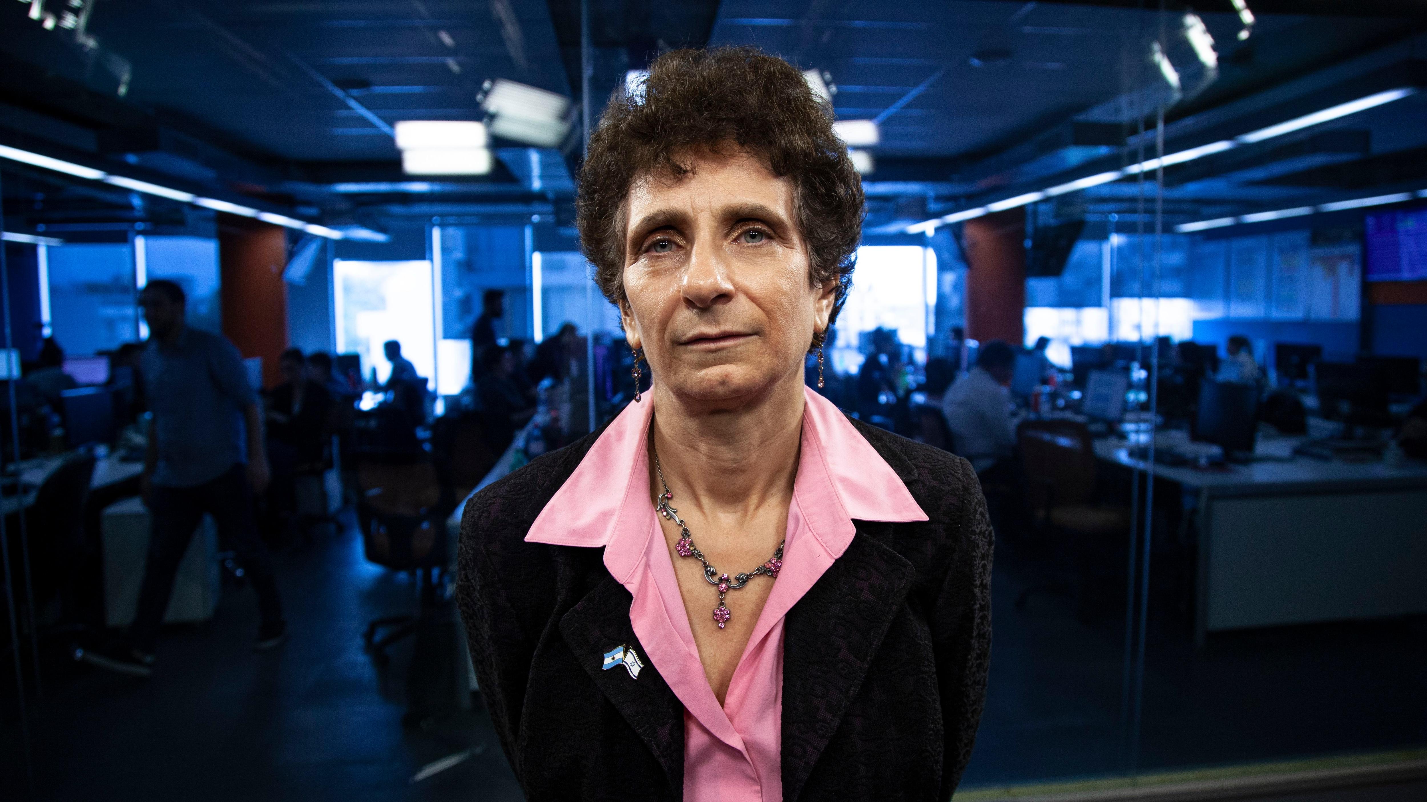 Galit Ronen, embajadora de Israel en Buenos Aires (foto: Santiago Saferstein)