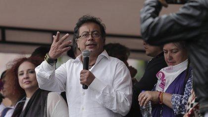 Gustavo Petro, senador y líder de Colombia Humana. Foto: Colprensa.