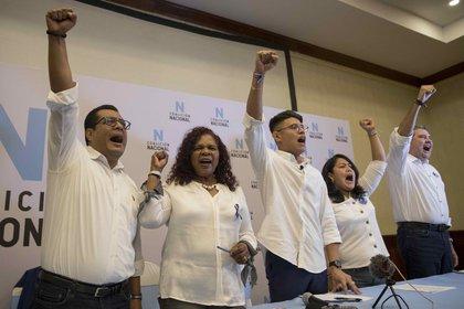 """La Coalición Nacional, que se ha presentado como la gran fuerza política que enfrente al sandinista Daniel Ortega en las elecciones de 2021 en Nicaragua, denunció este miércoles que sufre una """"nueva modalidad de represión"""" en este país centroamericano, que vive una grave crisis desde abril de 2018. EFE/Jorge Torres/Archivo"""