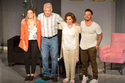 """Durante la temporada teatral 2020, los actores encabezaron """"Mentiras inteligentes"""" (Prensa Aguada)"""