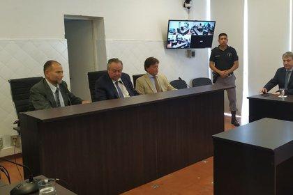 El juicio contra Valdemar Loza, a fines del año pasado (Ministerio Público Fiscal)