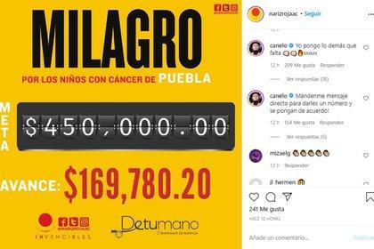 El deportista de Jalisco escribió en los comentarios de esta publicación, que la asociación había compartido con sus más de 20 mil seguidores para realizar una colecta (Foto: Instagram @narizrojaac)
