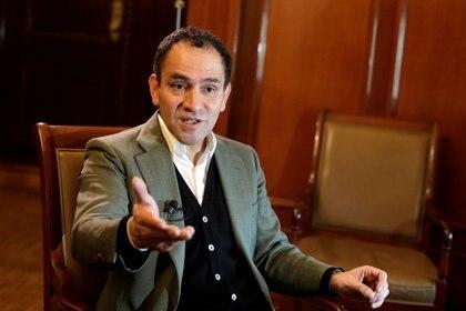 Arturo Herrera, titular de Hacienda de México, expuso en Enero porqué México no contrajo deuda para combatir al COVID-19 (Foto: Reuters / Gustavo Graf Maldonado)