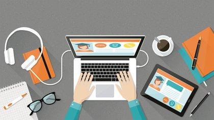 """""""La pandemia ha creado cambios profundos a lo largo del viaje hacia la transformación digital de formas que nadie podría haber imaginado"""", analizó Sundai Pichai, director ejecutivo de Google Alphabet (Shutterstock)"""