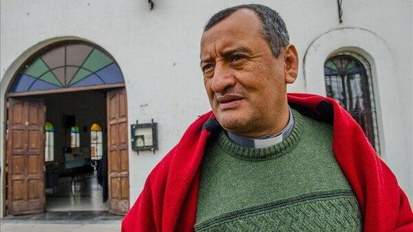 El sacerdote Carlos Gamboa, padre biológico de Agustina (Gentilez El Tribuno)