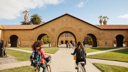 El campus de la Universidad de Stanford, en California