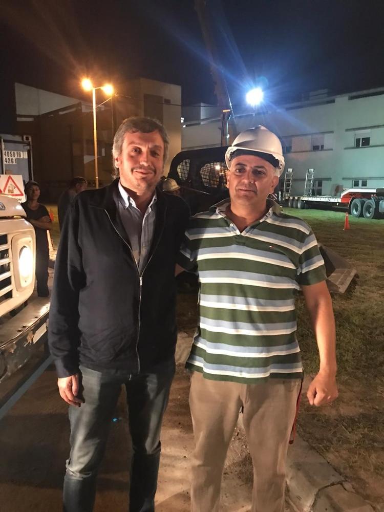 Máximo Kirchner recorre hospitales del conurbano bonaerense.