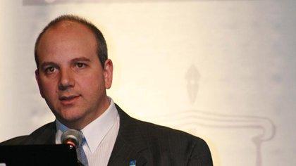 El fiscal Sergio Rodríguez