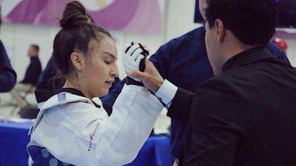 La subcampeona de la pasada Olimpiada Nacional lleva varios días hospitalizada (Foto: Facebook)