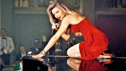 """Michelle Pfeiffer en """"Los Fabulosos Baker Boys"""""""