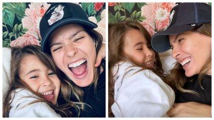 Las fotos que publicó la China Suárez con Rufina