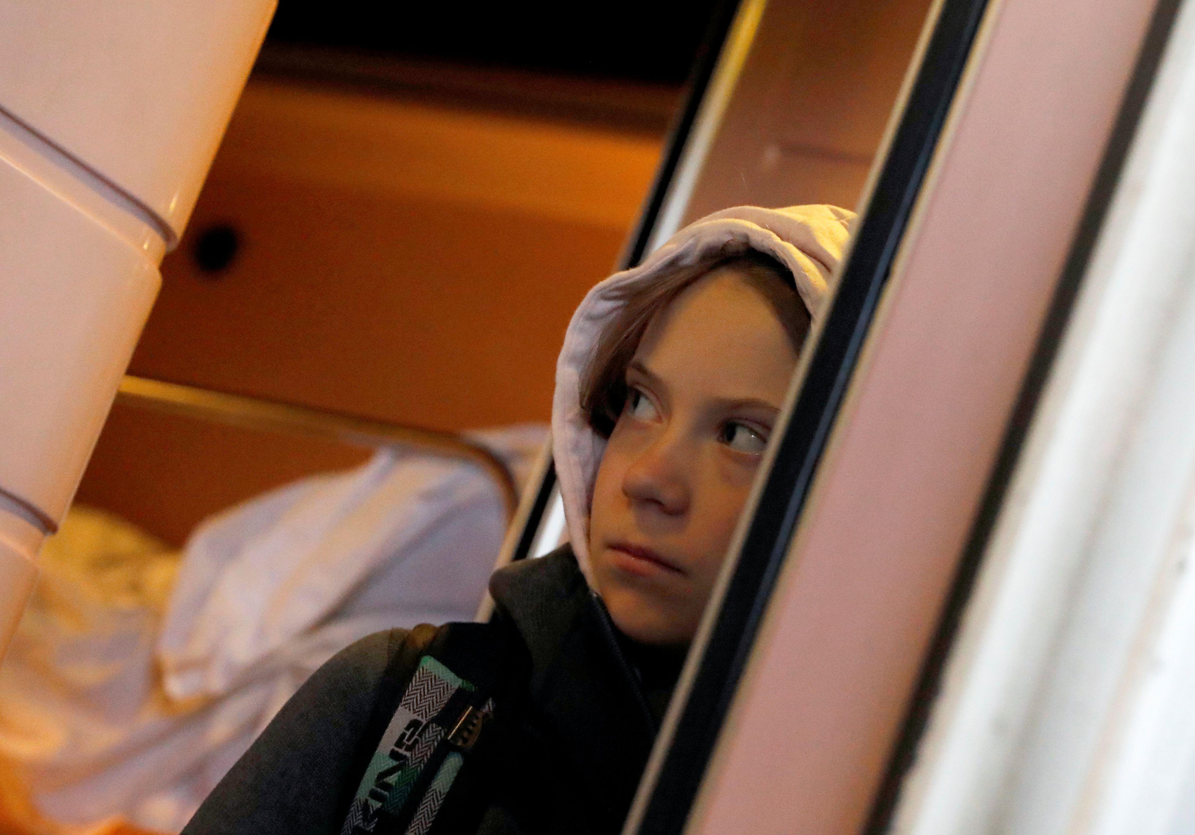 Greta Thunberg (REUTERS)