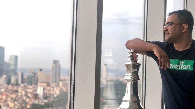 Masoud Molavi. Foto: @Masoud_Molavi