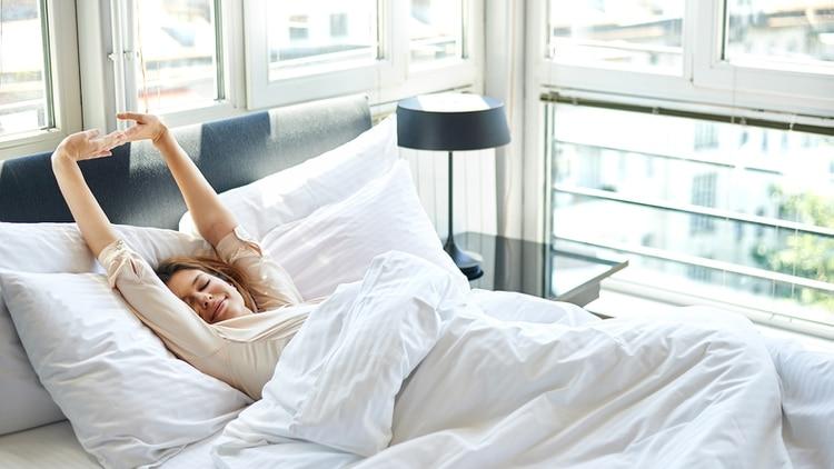 Los millonarios duermen al menos siete horas y se levantan temprano. (Shutterstock)