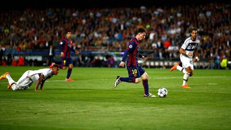 Messi recordó la histórica gambeta a Boateng y contó qué pensó en ...