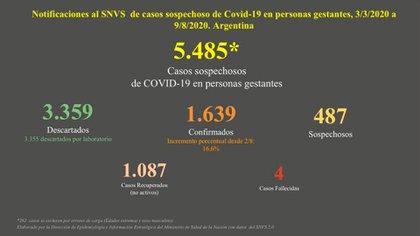 En la Argentina hay, hasta ahora, cuatro casos de mortalidad materna por Covid-19. El objetivo es preservar la vida de embarazadas y recién nacidos.