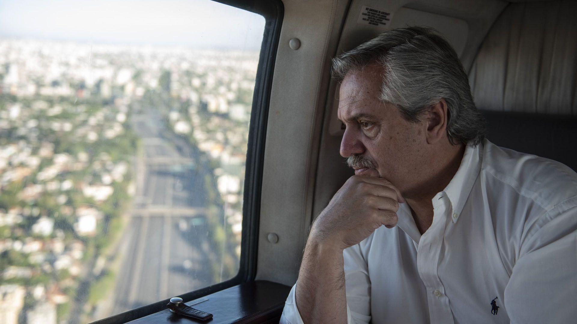 """El presidente Alberto Fernández había adelantado la decisión de """"no ingresar más gente""""."""