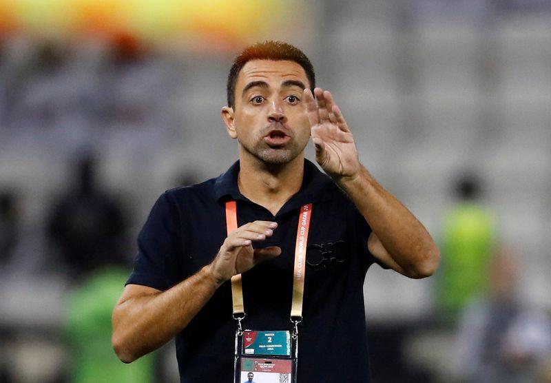 Xavi renovó con el Al Sadd de Qatar por una temporada pero con una cláusula que lo habilita a romper el vínculo en caso de que lo llame el Barcelona REUTERS/Kai Pfaffenbach