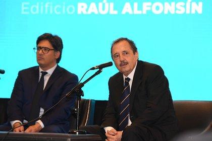 Garavano y Ricardo Alfonsín (Maximiliano Luna)