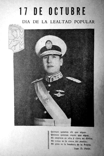 """Perón dijo que Cipriano fue """"el héroe del 17 de octubre"""", y el doctor Eduardo Colom reconoció méritos decisivos """"al ciudadano Reyes y sus amigos""""."""