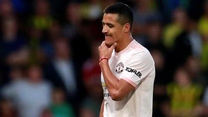 El chileno Alexis Sánchez llegó como figura al Manchester United, pero nunca logró asentarse (Reuters)