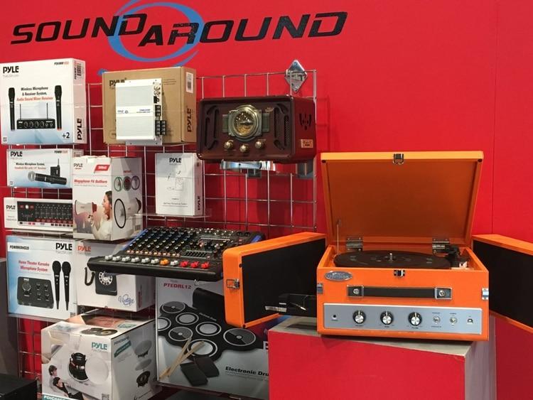 El tocadiscos de SoundAround