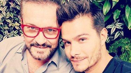 Arturo Peniche y su hijo Brandon (IG: arturopenicheof)