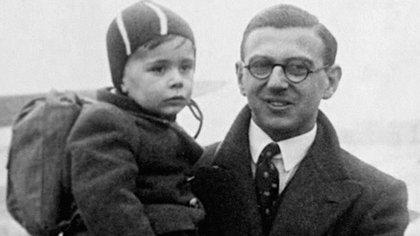 Nicholas Winton, el británico que salvó la vida de 669 niños judíos en el comienzo de la Segunda Guerra Mundial