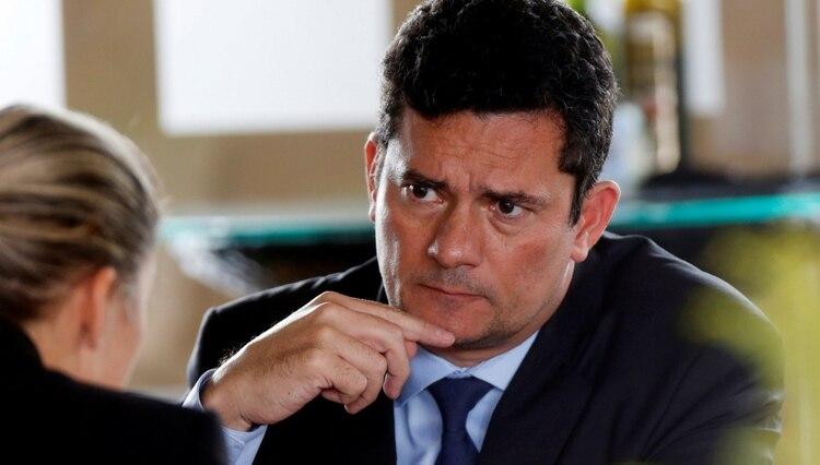 El juez anticorrupción Sergio Moro investigó el Lava Jato y fue elegido ministro de Justicia por Jair Bolsonaro (REUTERS/Adriano Machado)