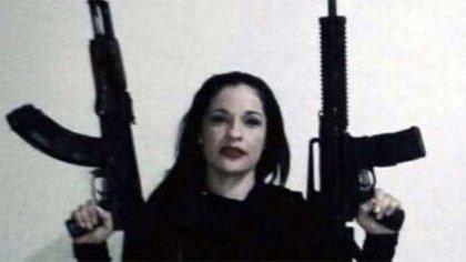 """Margarita Calderón Ojeda """"La China"""": llegó a decirse que era la mujer más influyente del Cártel de Sinaloa, de Joaquín """"El Chapo"""" Guzmán Loera, al que se reveló cuando trataron de degradarla de posición (Foto: Redes Sociales)"""