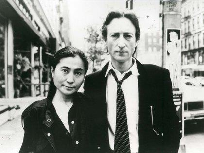 John y Yoko en Nueva York. Shutterstock