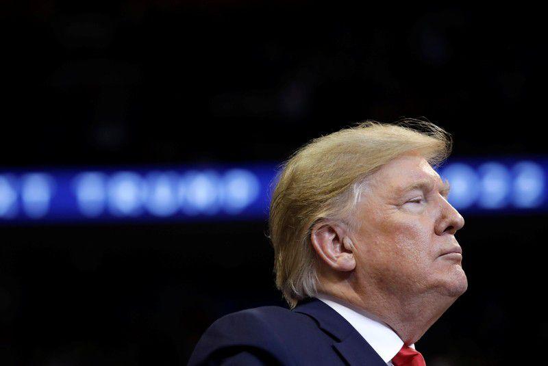 Donald Trump anunció por Twitter la imposición de aranceles al acero y el aluminio de Brasil y la Argentina . REUTERS/Yuri Gripas