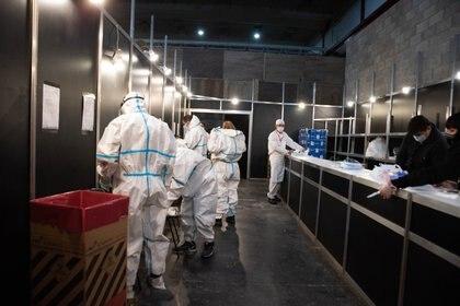 El centro de aislamiento Tecnopolis ya comenzó a recibir pacientes (Foto: Franco Fafasuli)
